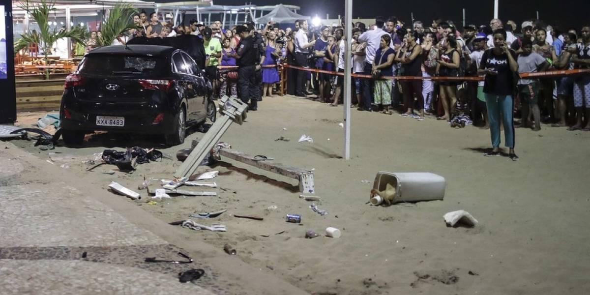 Mãe da bebê atropelada em Copacabana diz que tudo aconteceu muito rápido