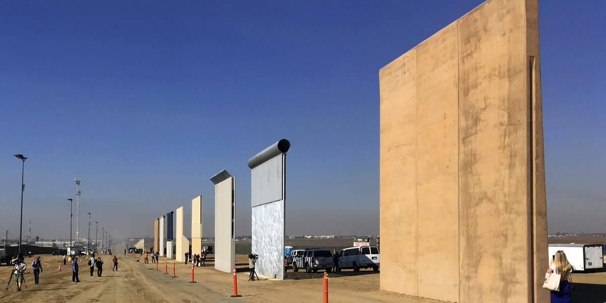 Inicia la construcción del muro fronterizo en California