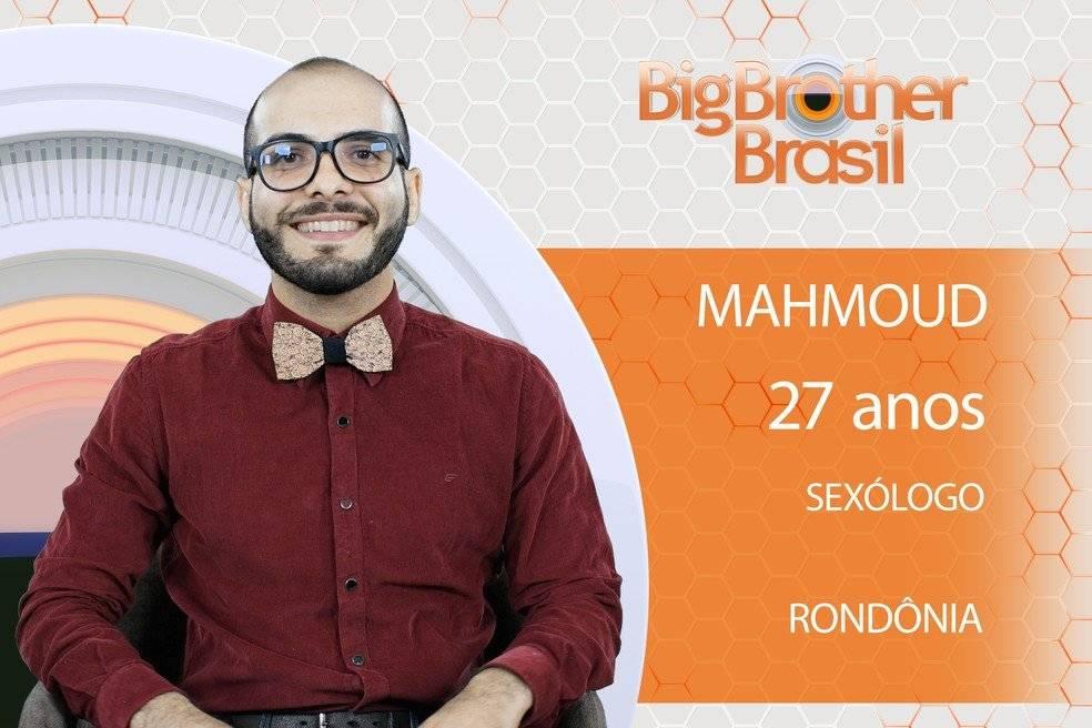 BBB 18 Mahmoud