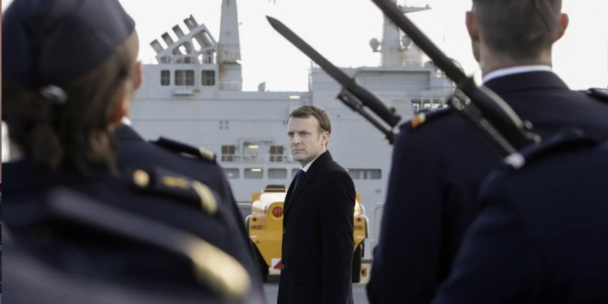 Presidente de Francia confirma que restablecerá el servicio militar obligatorio