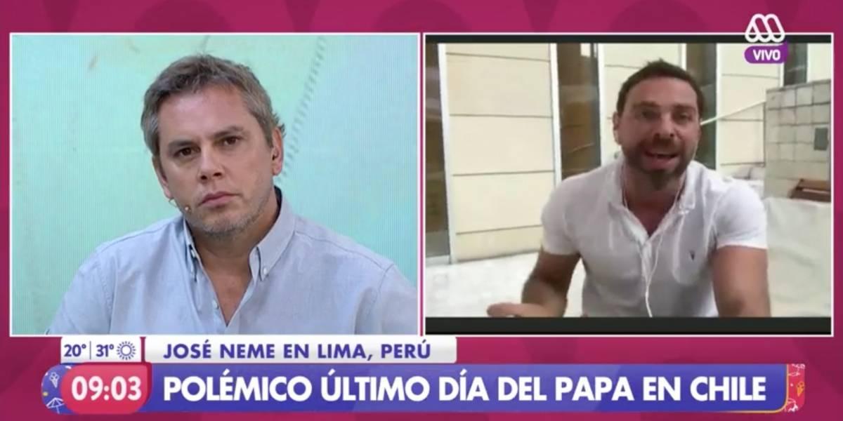 """José Miguel Viñuela relata acoso sufrido en el colegio: """"Nos tirábamos en pelota a la piscina y el cura nos sacaba fotos"""""""