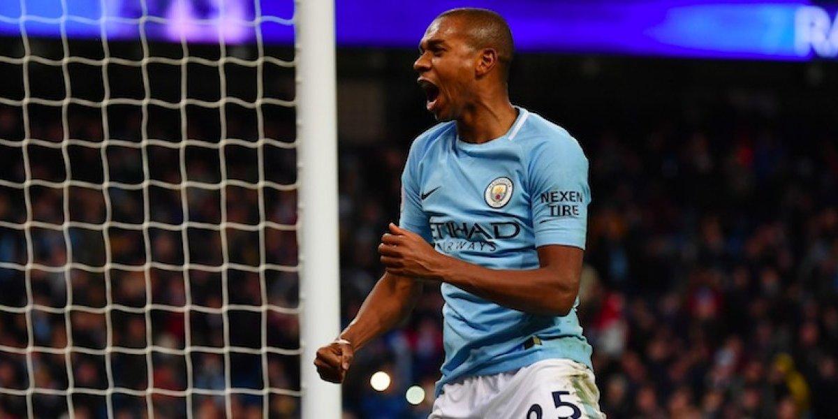 Manchester City renueva con Fernandinho hasta 2020
