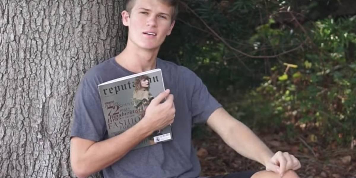 Joven se hace viral tras invitar a Taylor Swift a su baile de graduación con divertido video