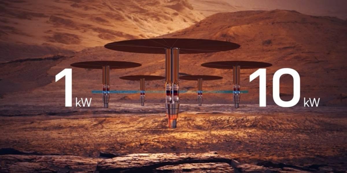 Nasa busca mantener austronautas en Marte con energía nuclear