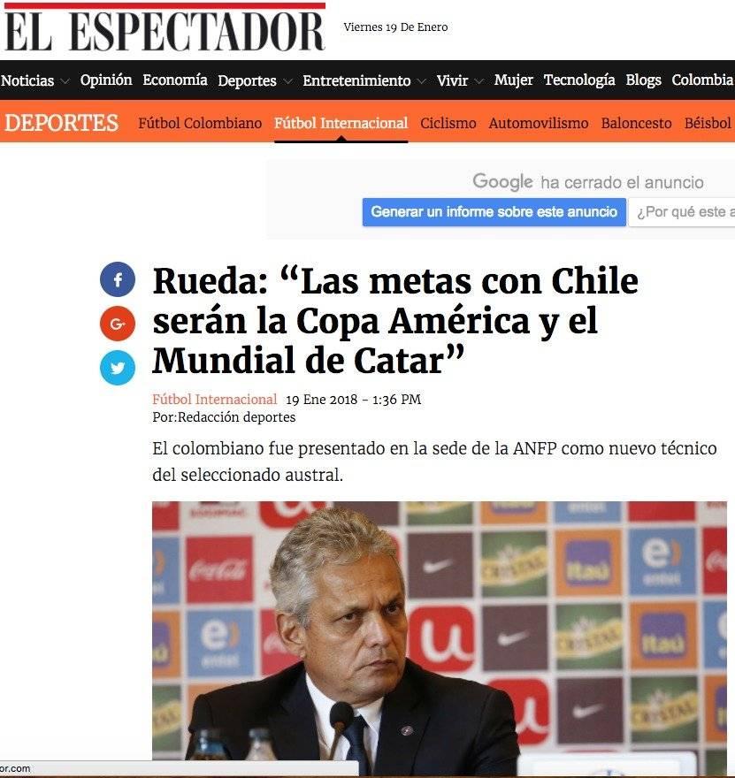 Medio de comunicación colombiano.