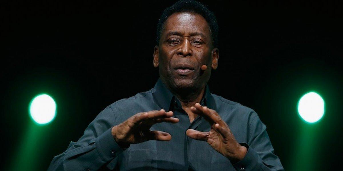 Asesor niega hospitalización de Pelé por un desmayo
