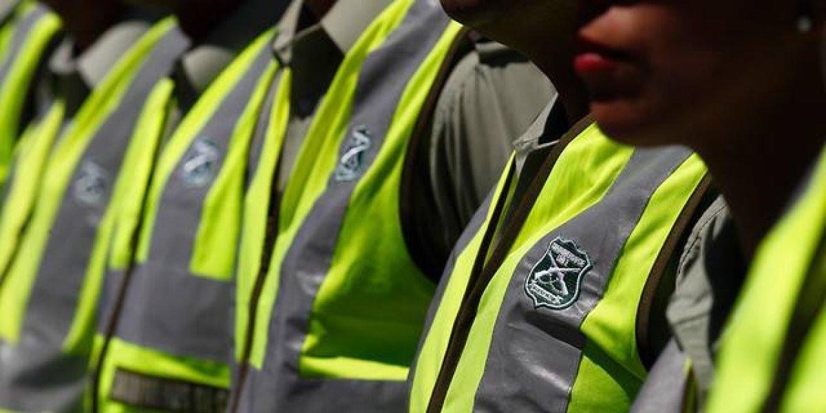 Esta tarde serán formalizados los cinco carabineros detenidos y dados de baja por delitos relacionados con drogas y robo a cajeros automáticos