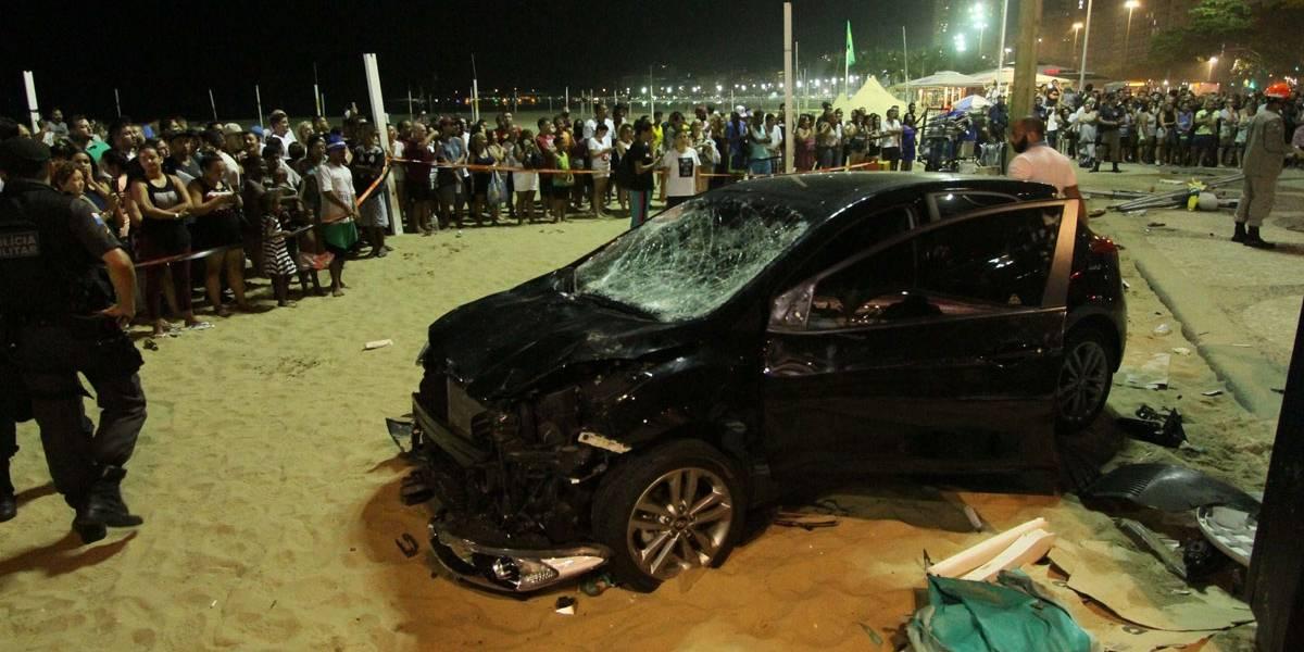 Turista australiano está em estado grave após atropelamento em Copacabana; veja lista de feridos