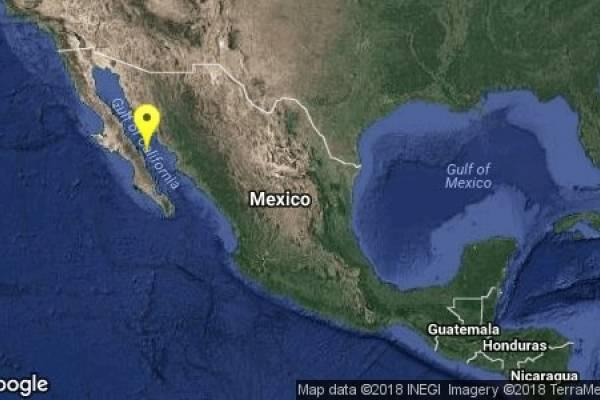 Sismo 19 de enero en Baja California Sur