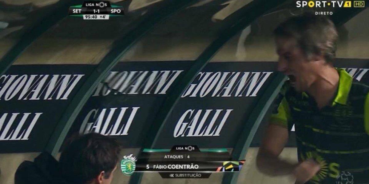 VIDEO: Coentrao se vuelve loco en partido de la Primeira Liga