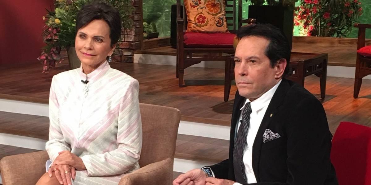 Juan José Origel y Pati Chapoy se reencuentran