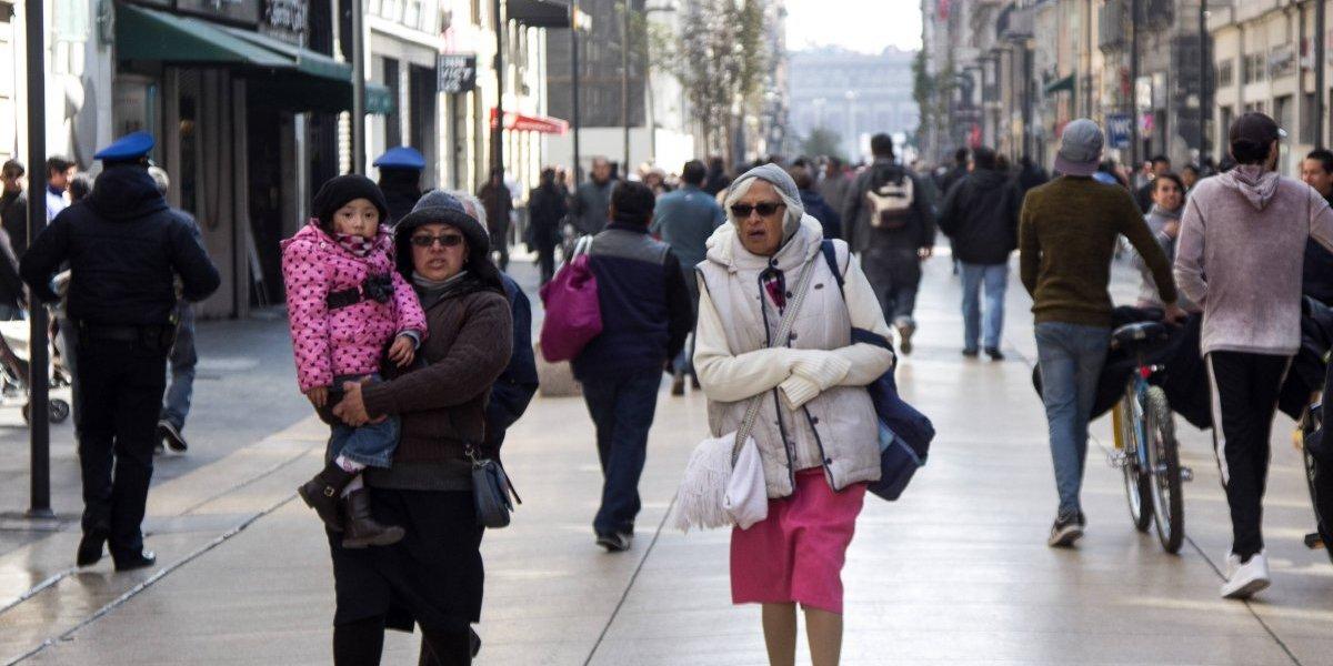 Frente frío 24 llegará con marcado descenso de la temperatura