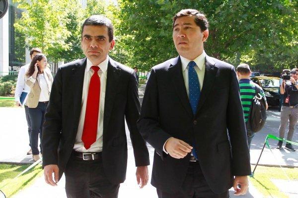 Fiscal Carlos Gajardo y Pablo Norambuena