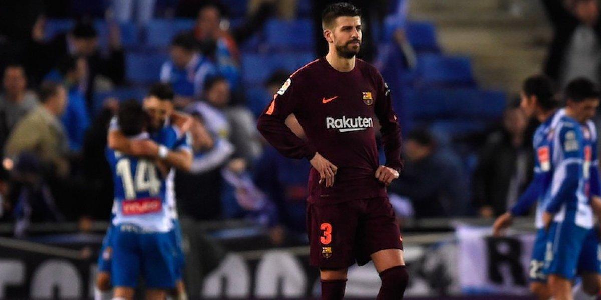 La Liga denuncia insultos a Piqué y al Barça