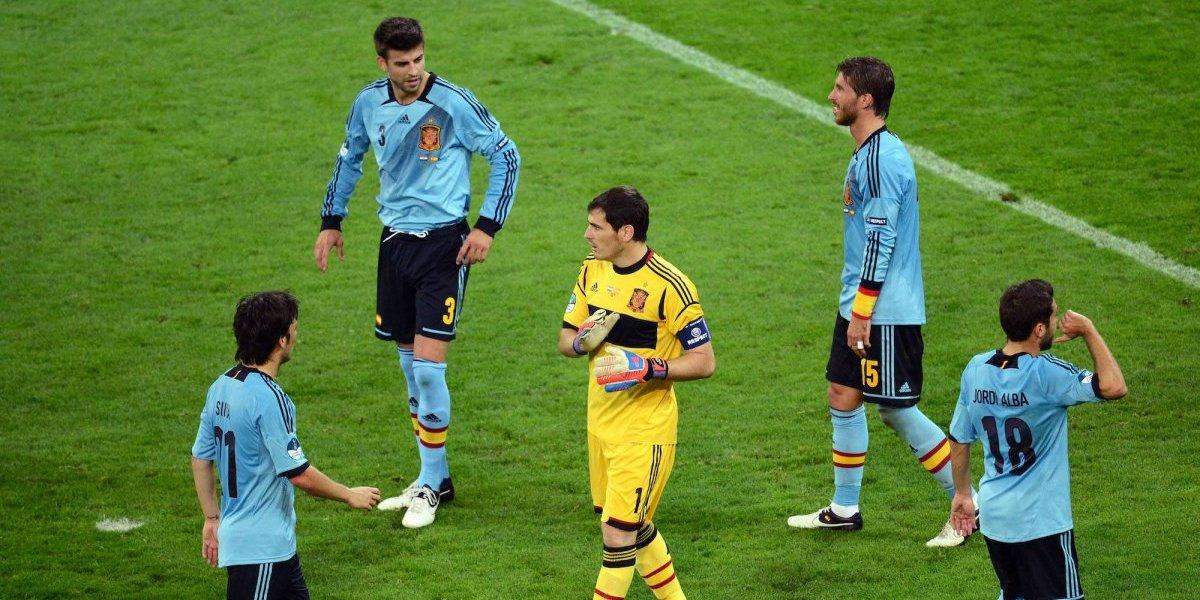 Casillas desaprueba la renovación de Piqué con Barcelona
