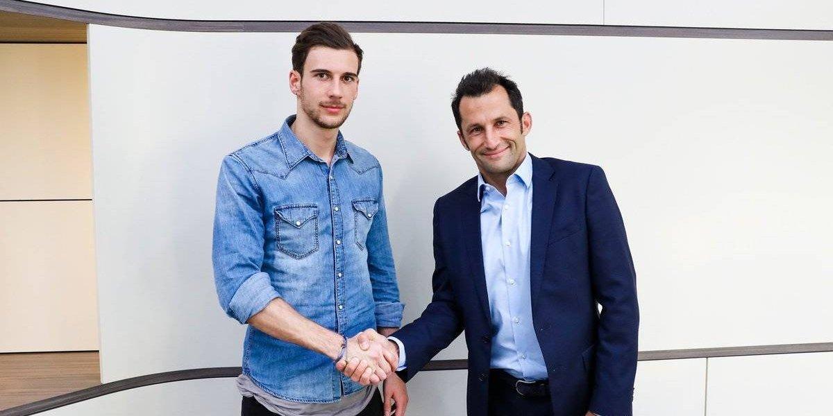 Leon Goretzka ficha con el Bayern Múnich