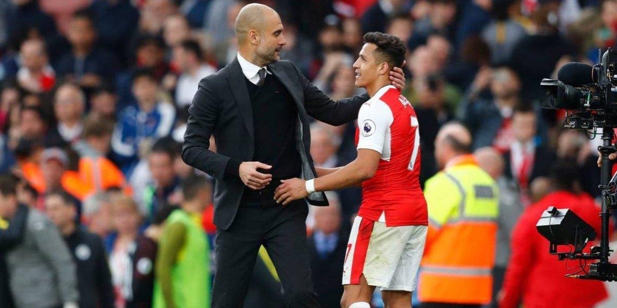 """Guardiola asume su derrota ante Mourinho en la lucha por Alexis: """"Él irá al United, le deseo lo mejor"""""""