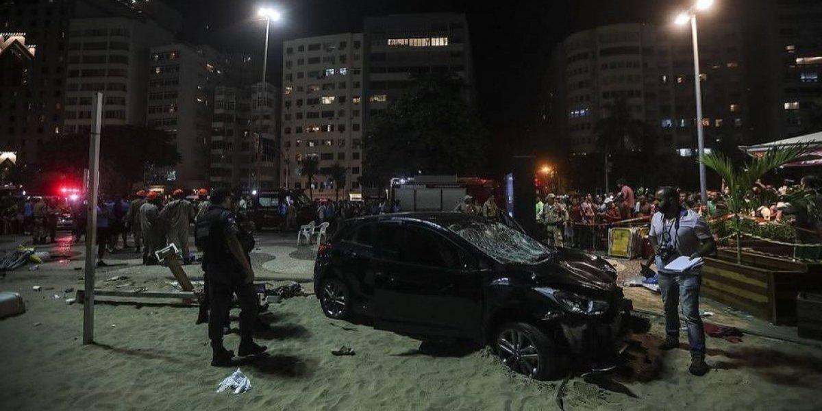 Le dio ataque de epilepsia mientras manejaba: una bebé muerta y 17 heridos en Brasil