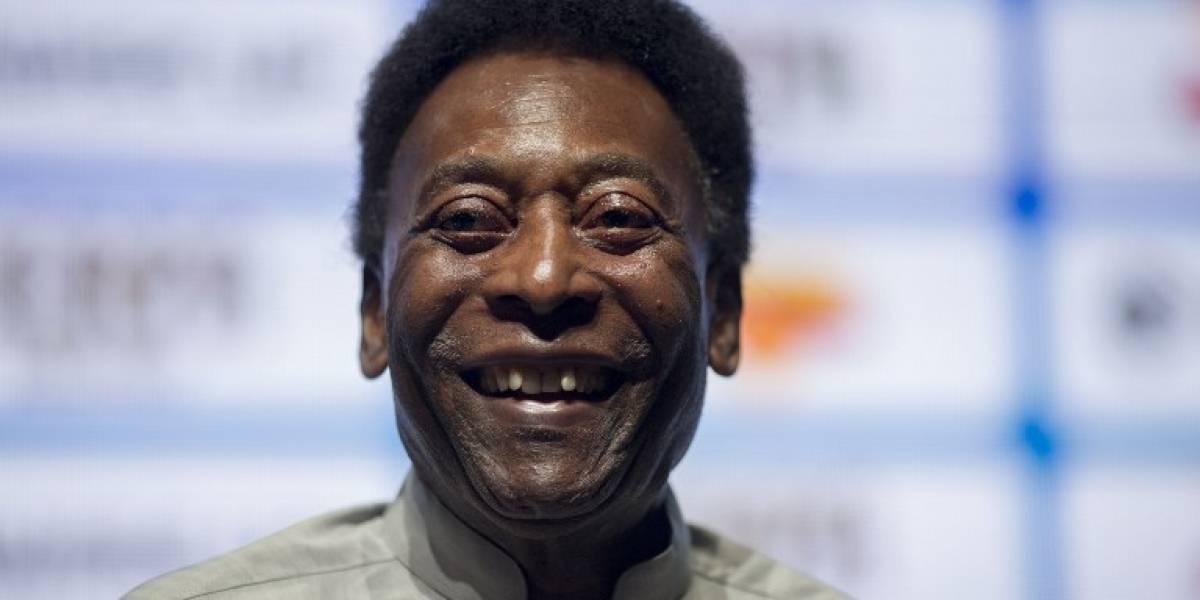 Hospitalizan a Pelé por agotamiento severo