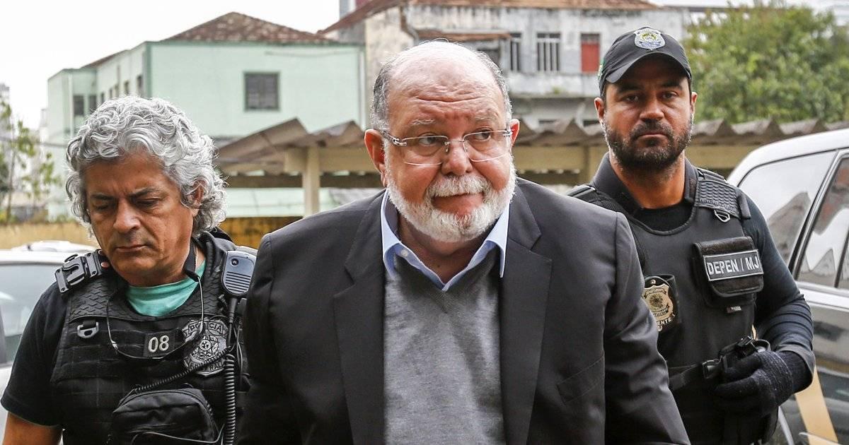 Ex-presidente da OAS Léo Pinheiro