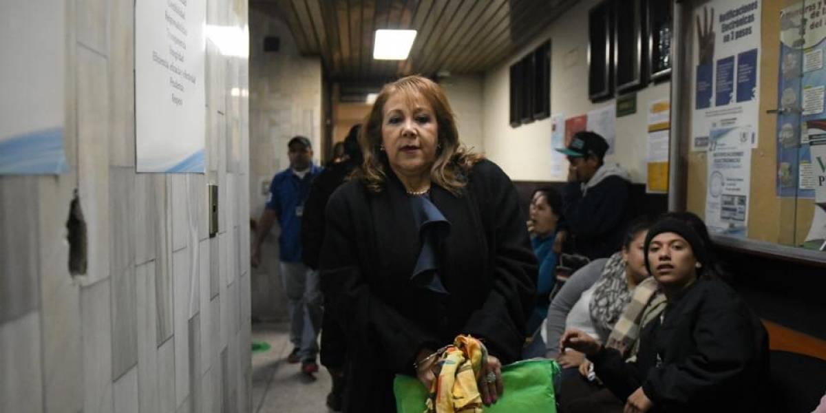 Blanca Stalling podrá salir de prisión para visitar a su mamá