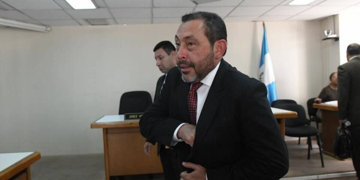 """Mauricio López Bonilla recusa a jueza y señala violaciones """"no puedo ir como corderito"""""""