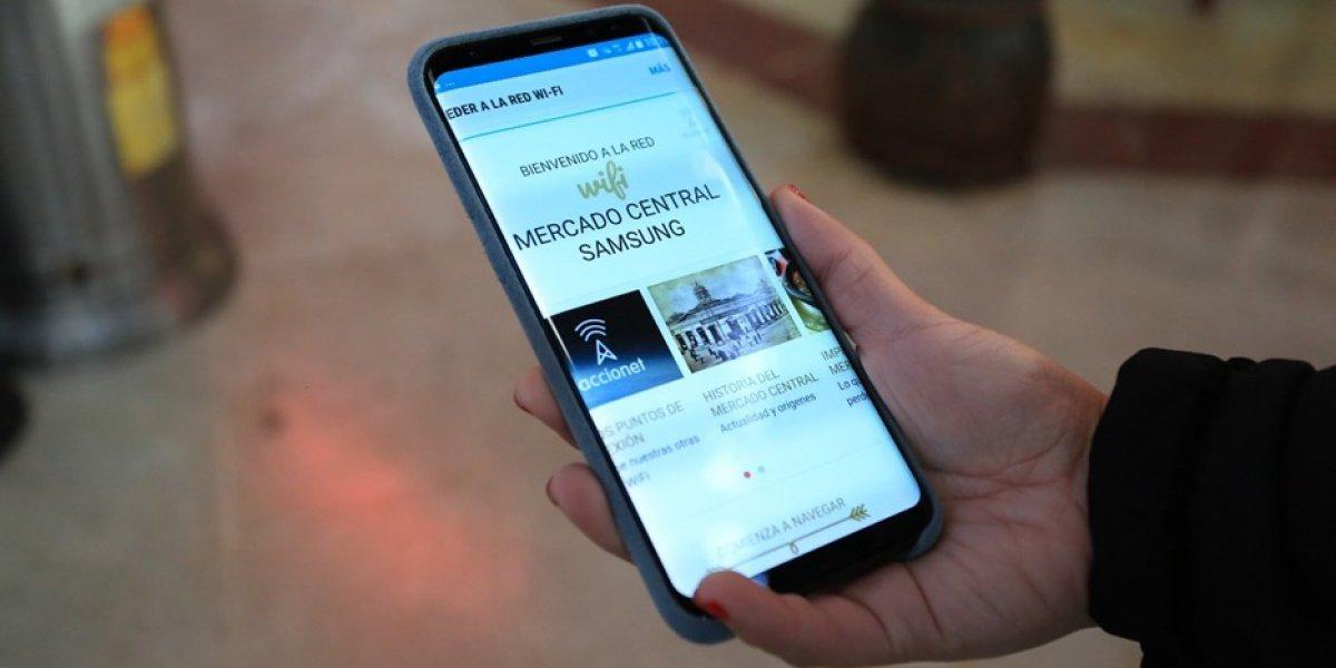 Wifi gratuito del Mercado Central ya suma casi 60 mil conexiones
