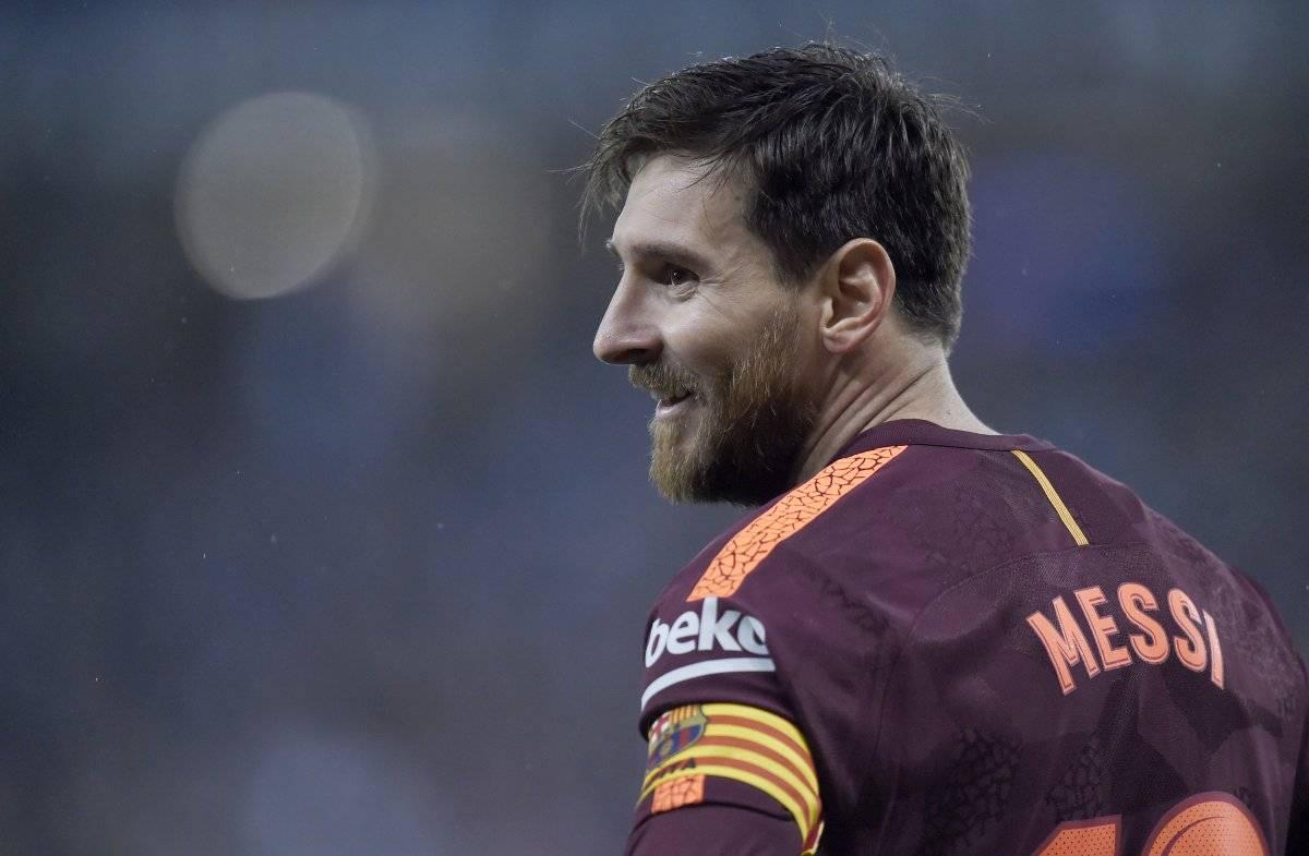 4º - Lionel Messi (Argentina), do Barcelona -Por semana:478 mil euros (R$ 1,76 milhão)Por temporada:24,9 milhões de euros (R$ 91,8 milhões)| Alex Caparros/Getty Images