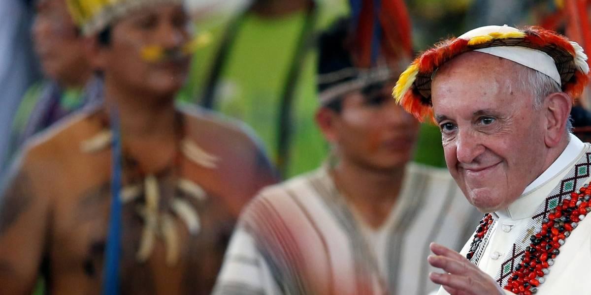'Amazônia nunca esteve tão ameaçada', diz Papa