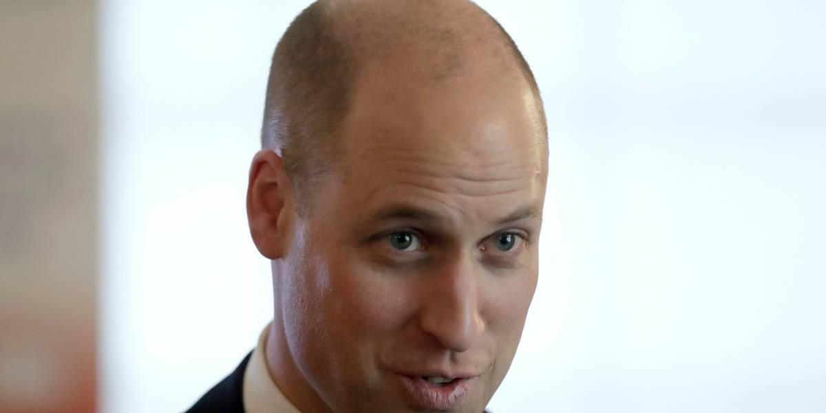 Príncipe Guillermo de Inglaterra prefiere el cabello extra corto