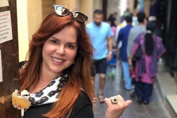 Maria Celeste Arrarás: instagram
