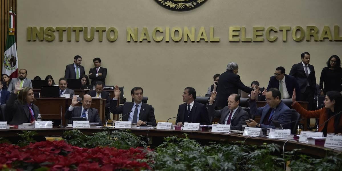 """Comisión del INE avala coalición """"Todos por México"""" que postula a Meade"""