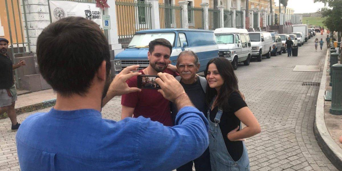 Oscar López celebra sus primeras SanSe