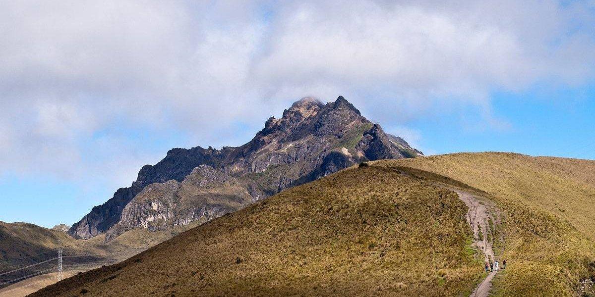 6 personas fueron rescatadas en la cima del Guagua Pichincha