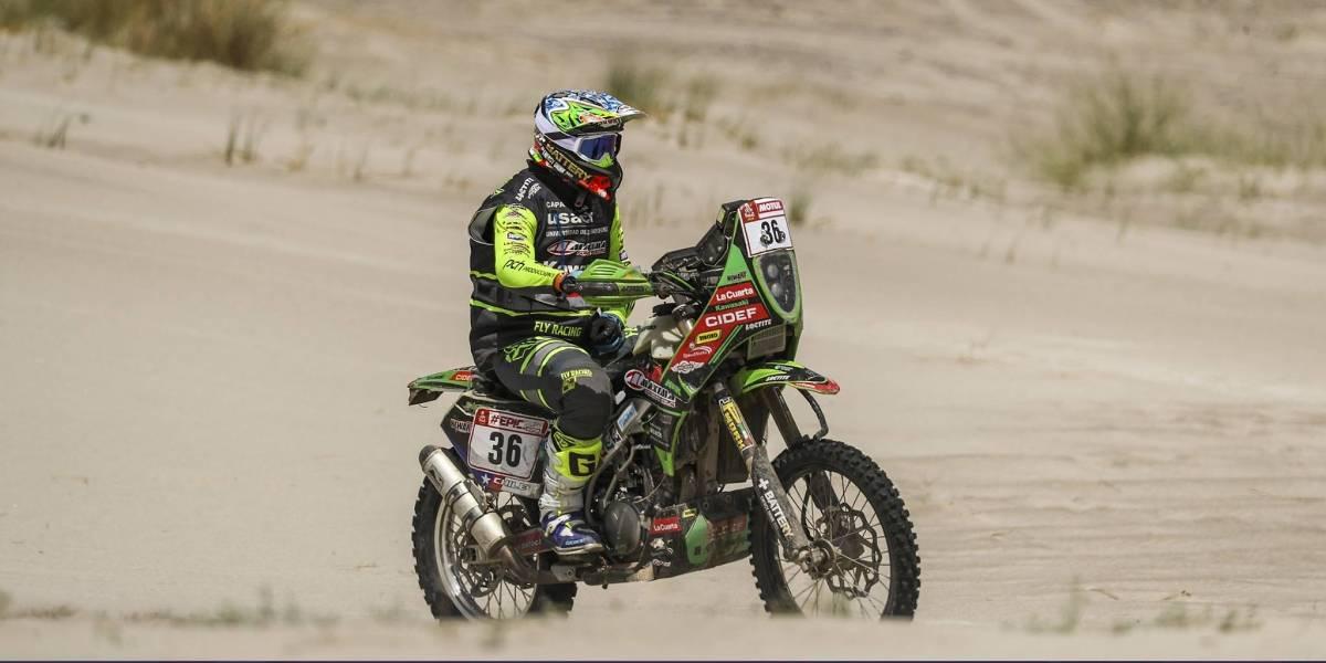 El tremendo esfuerzo de Patricio Cabrera para terminar el Dakar con un brazo lesionado