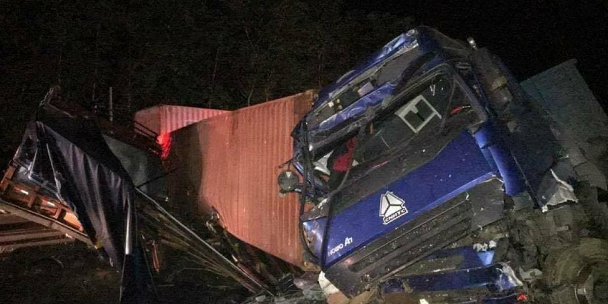 Cinco fallecidos tras accidente en la vía Quevedo- Santo Domingo