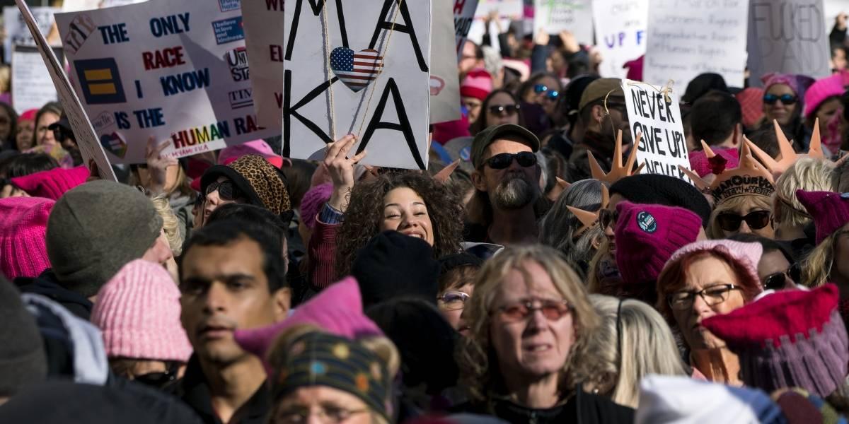 La 'Marcha de las Mujeres' vuelve a tomar las calles de EU