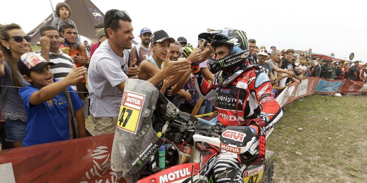 El argentino Benavides se metió a un selecto grupo sudamericano del Dakar que era de exclusividad chilena