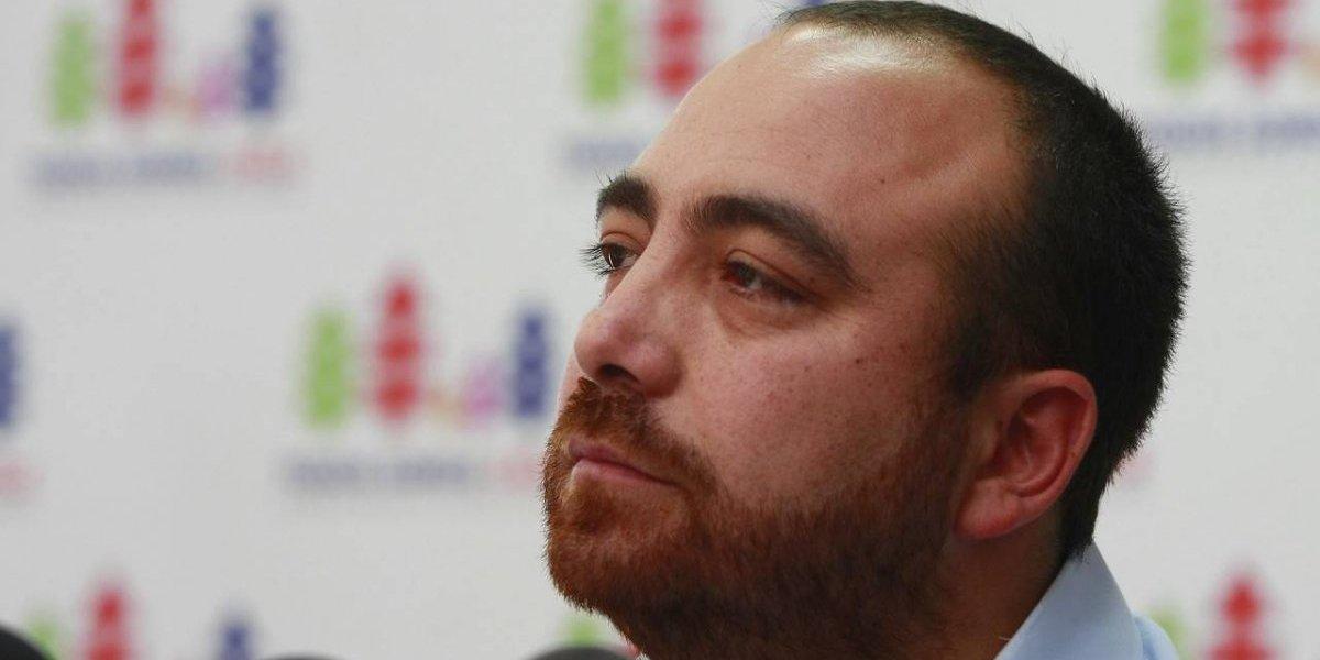 Fuad Chaín protagoniza violento accidente automovilistico: se volcó