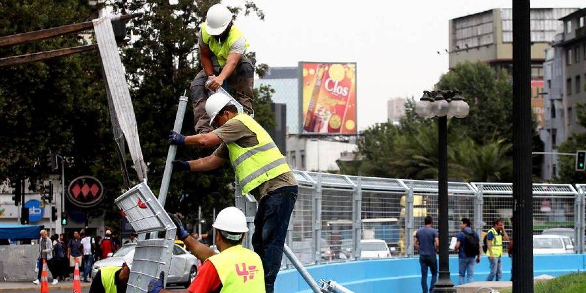 Conoce los desvíos en Santiago por los preparativos para la Formula E