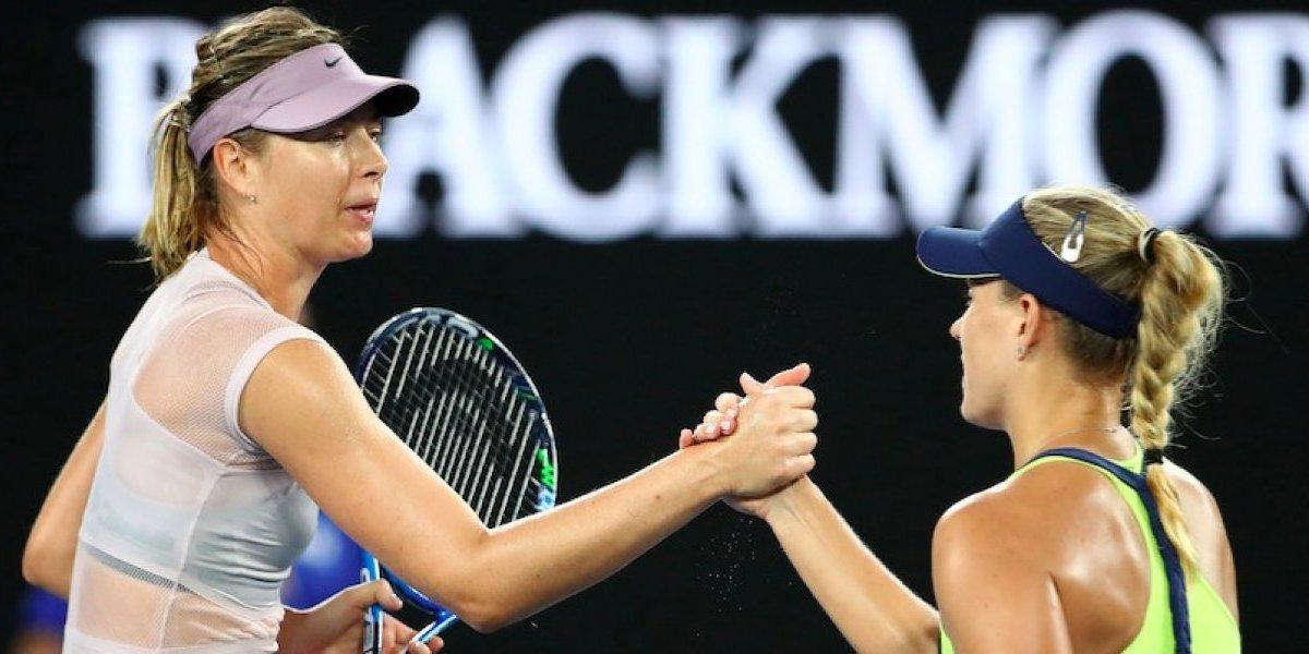 Kerber elimina a Sharapova y se coloca en Octavos de Australia