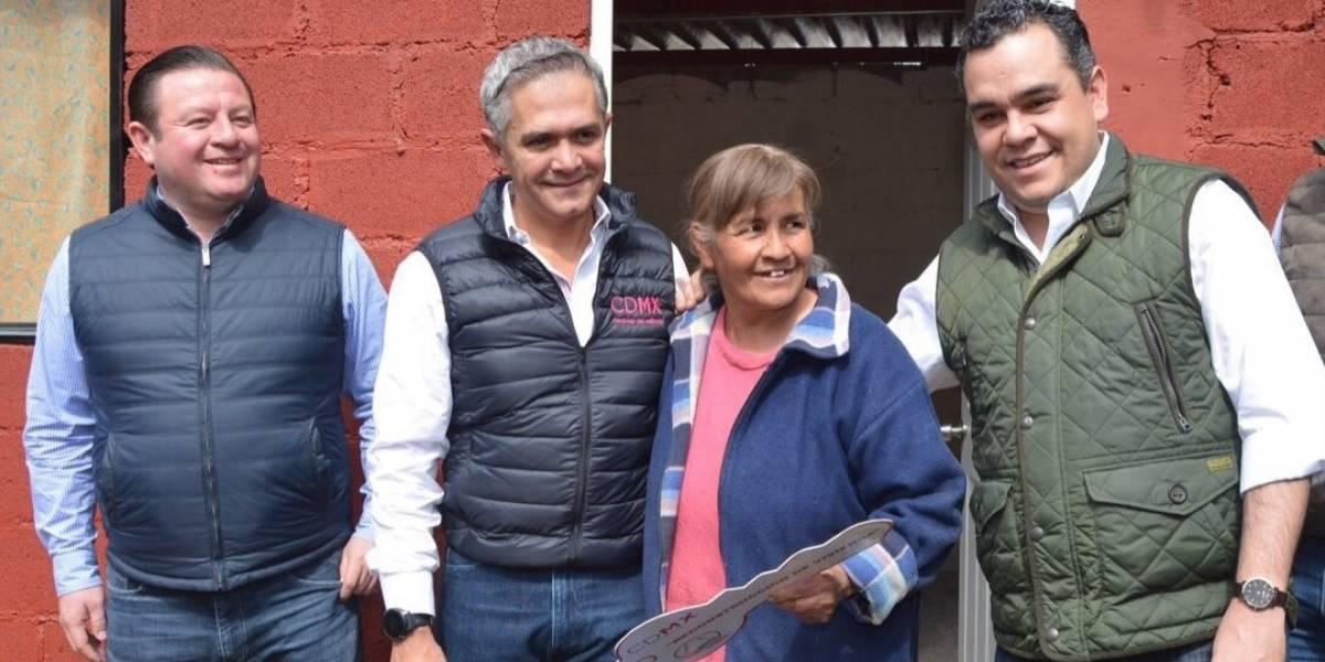 En reconstrucción no daremos espacio a 'la política': Mancera a Sheinbaum