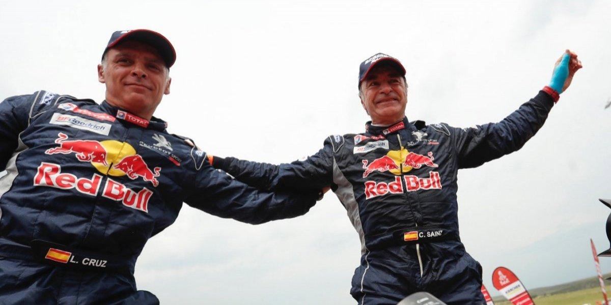 A sus 55 años Carlos Sainz se corona en el rally Dakar 2018