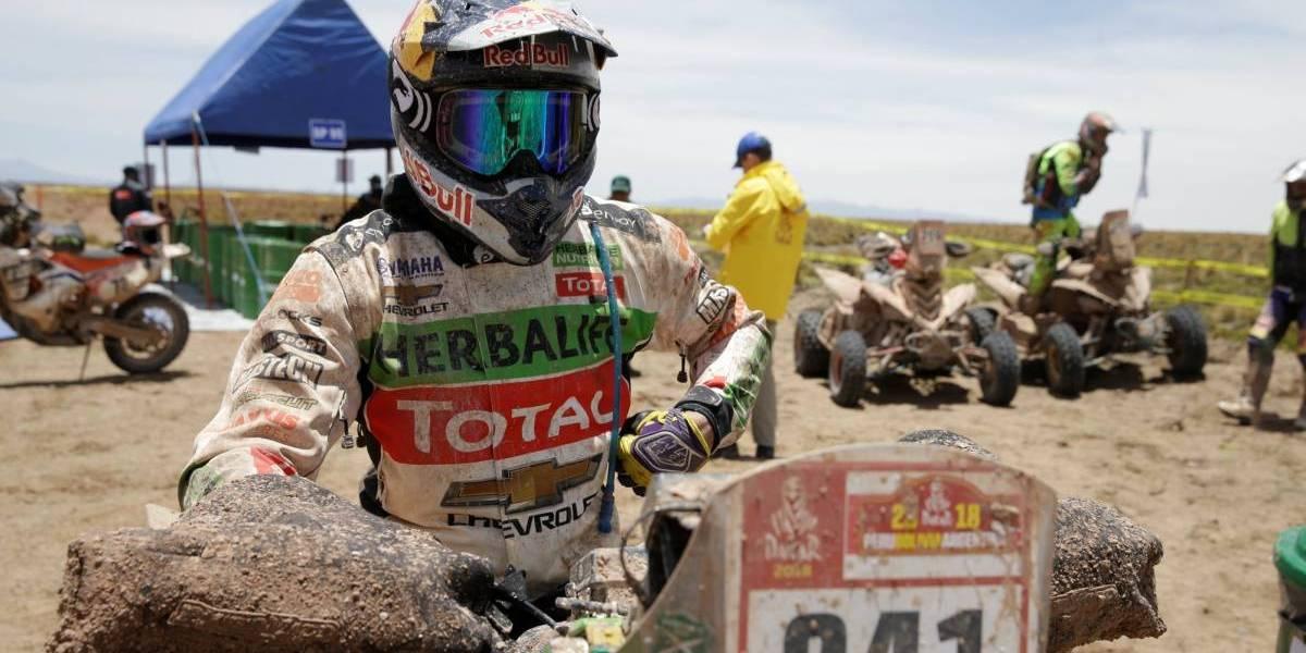 """Casale fue felicitado por Piñera tras ganar el Dakar: """"Gracias por apoyarnos siempre"""""""