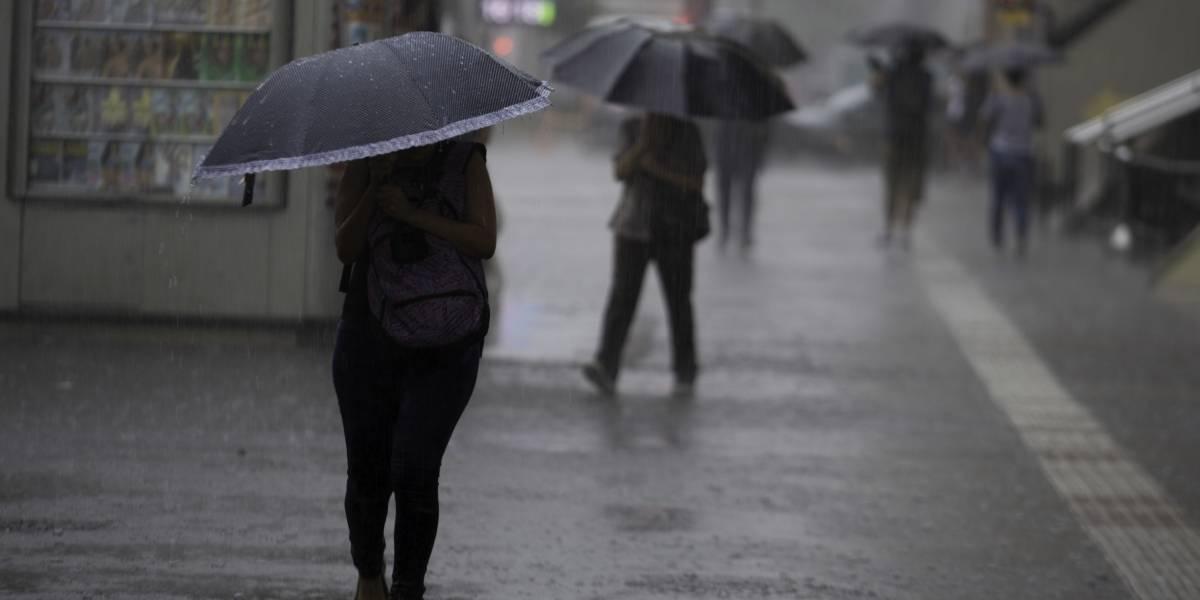 Chuva deixa parte de São Paulo em estado de atenção