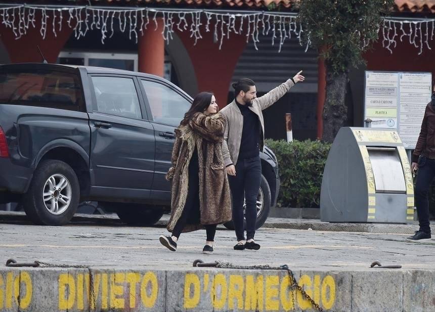 Maluma y Natalía Barulích The Grosby Group Univision