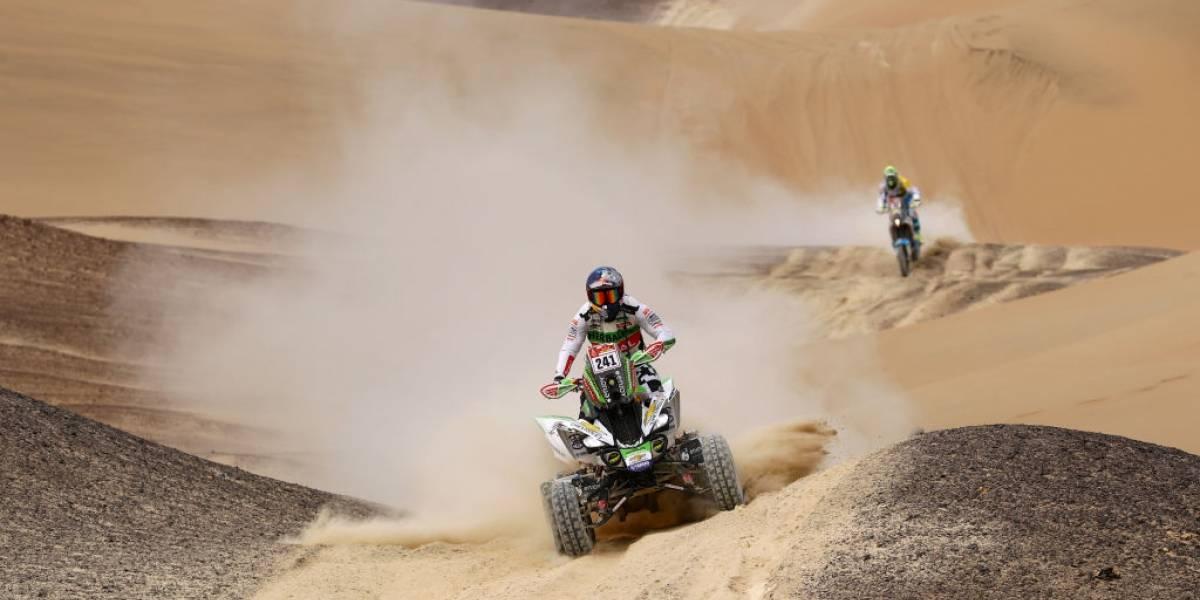 """El """"Perro"""" ladró más fuerte que todos en el Dakar: Ignacio Casale es bicampeón de quads"""
