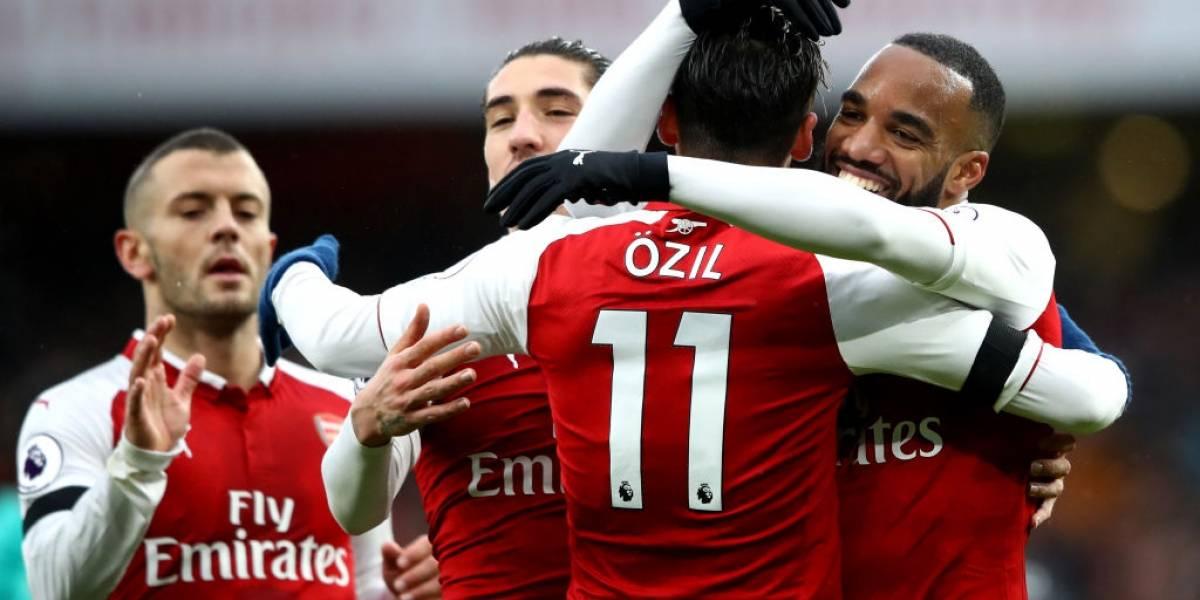 ¿Este es Arsenal sin Alexis? Los Gunners metieron 4 goles en 20 minutos y golearon a Crystal Palace