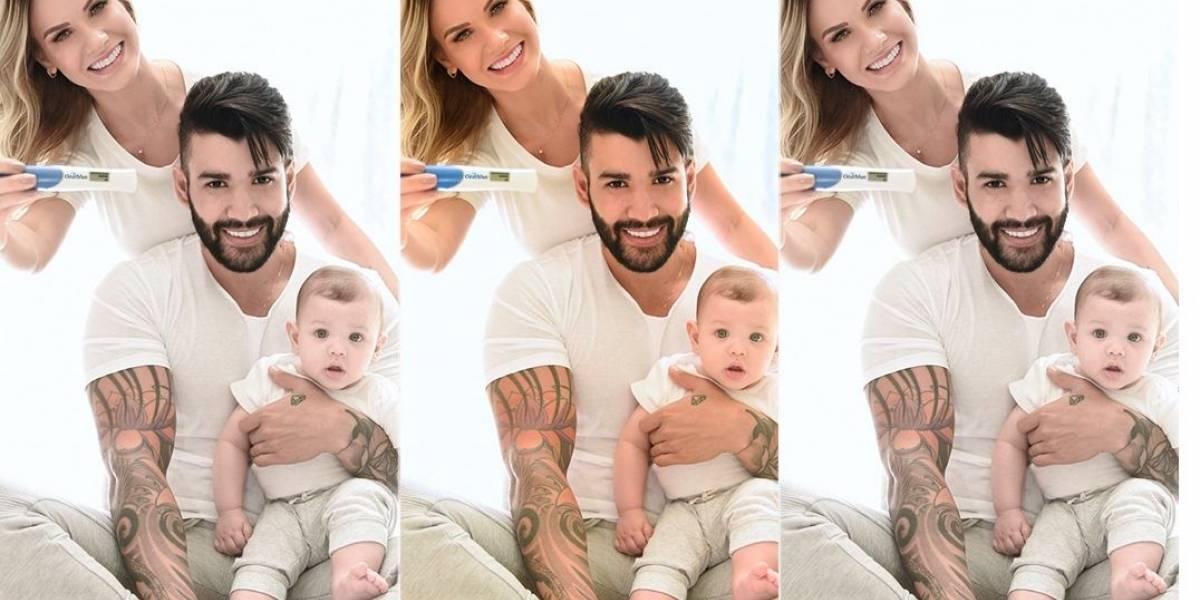 Gusttavo Lima e Andressa Suita serão pais novamente: 'homem mais feliz do mundo'