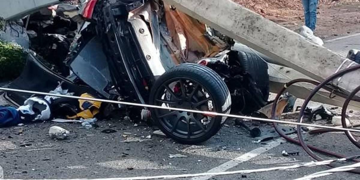 Muere hijo del dueño de Adrian Tropical en aparatoso accidente de tránsito en la Anacaona